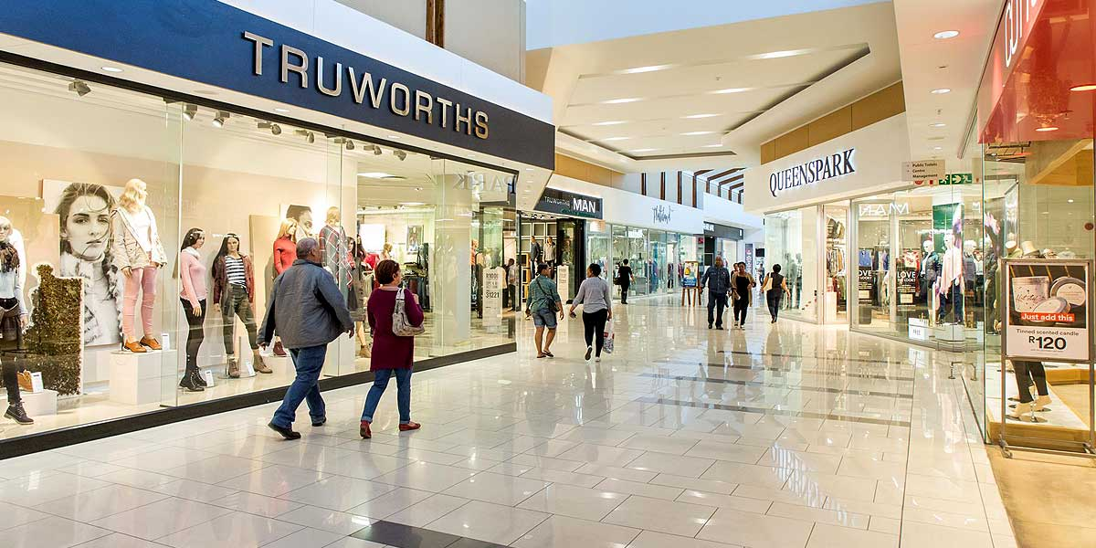 Trueworths fashion store at the Kalahari Mall in Upington