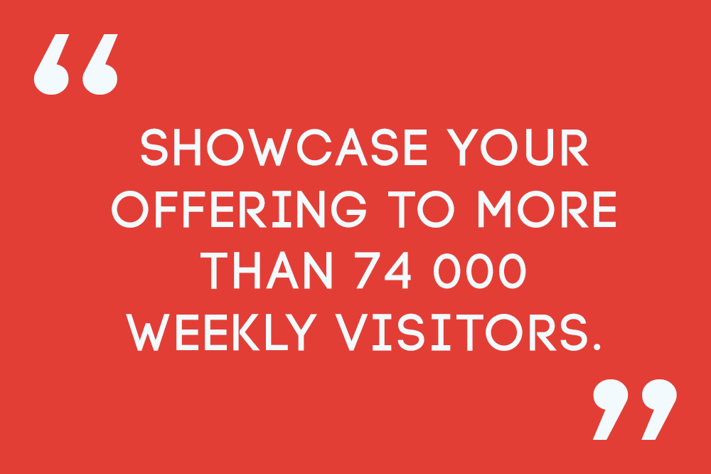Showcase your offering to more than 74000 weekly visitors at the Kalahari mall, Upington