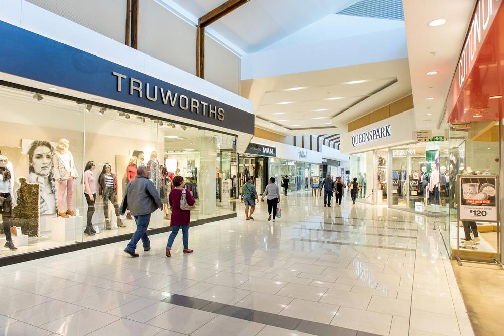 Truworths and Queenspark fashion stores at Kalahari mall, Upington